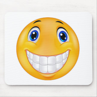 Happy smile mouse pad