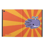 Hand shaped Happy Smile Purple Whale Powis iPad Air 2 Case