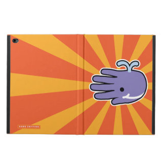 Happy Smile Purple Whale Powis iPad Air 2 Case