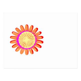 HAPPY Smile SURYA SUN Chakra Flower NVN285 FUN Postcard