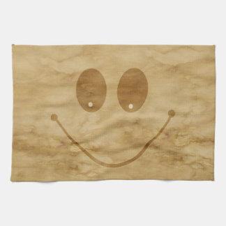 Happy smile towel