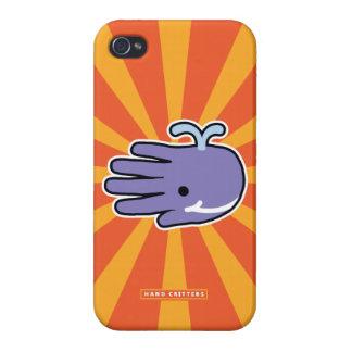 Happy Smile Whale iPhone 4/4S Cases