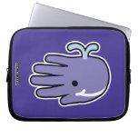 Happy Smile Whale Laptop Sleeve