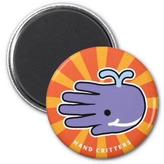 Happy Smile Whale Fridge Magnet
