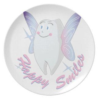 Happy Smiles Dinner Plate