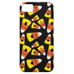 Happy smiley candy corn orange Halloween pattern iPhone 5 Cover