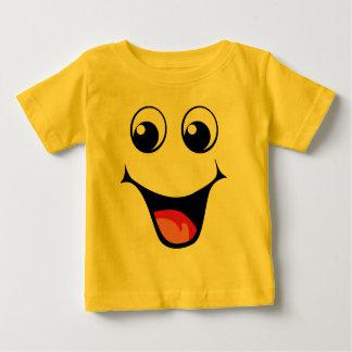 Happy Smiley Emoticon Baby T-Shirt