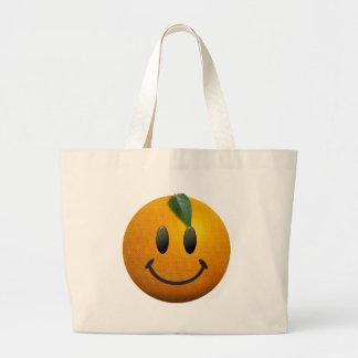 Happy Smiley Face Tote Bag