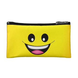 Happy Smiley Face Cosmetic Bag