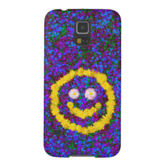 Happy Smiley Face Dandelion Flowers Case For Galaxy S5