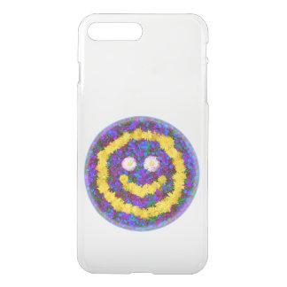Happy Smiley Face Dandelion Flowers iPhone 7 Plus Case