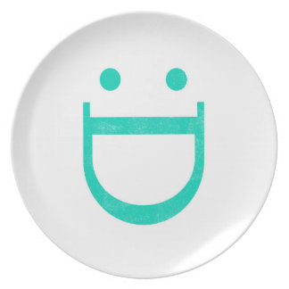 Happy Smiley Face Dinner Plate