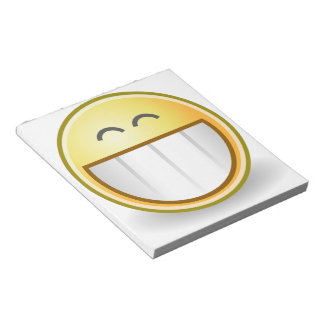 Happy Smiley Face Pattern Office Peace Destiny Memo Notepads