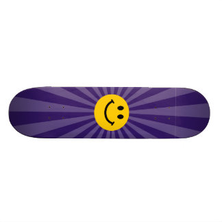 Happy Smiley Face Skateboard Deck