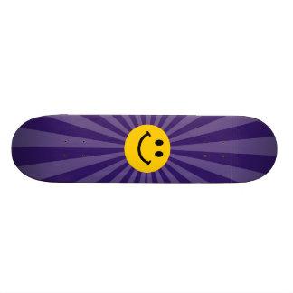 Happy Smiley Face Skateboard Deck