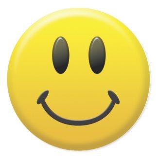 Happy Smiley Face sticker