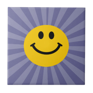 Happy Smiley Face Tile