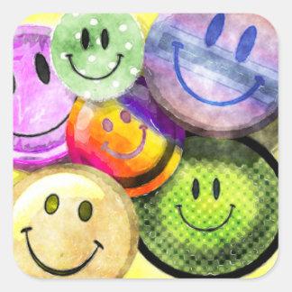 HAPPY SMILEY FACES Stickers