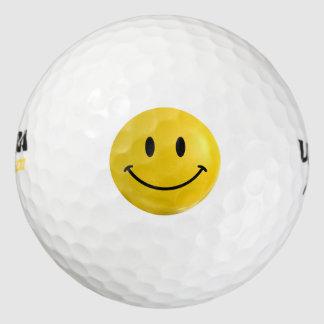 Happy Smiley Golf Ball