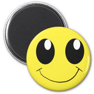 Happy Smiley Magnet