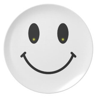 Happy Smiley Plate