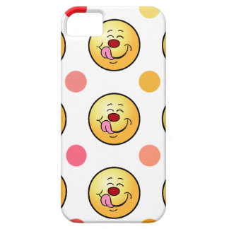 Happy Smiley & Polka Dots iPhone 5 Cases