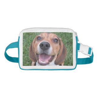 Happy Smiling Beagle Waist Bag