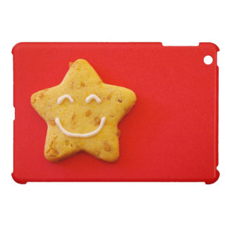 Happy smiling cookie iPad mini covers