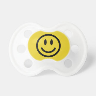Happy Smiling Face baby pacifier