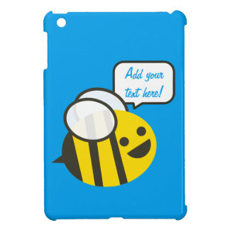 Happy Smiling Jolly Bee Cover For The iPad Mini