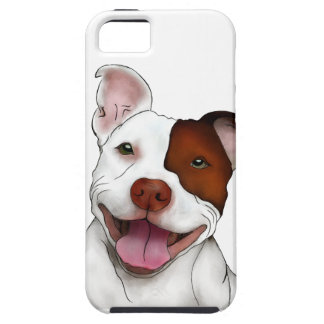 Happy Smiling Pitbull iPhone 5 Cover