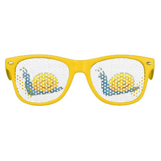 Happy Snail | Funny Gifts Kids Sunglasses