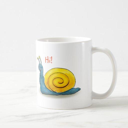 Happy snail - Mug
