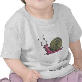 Happy snail tshirts