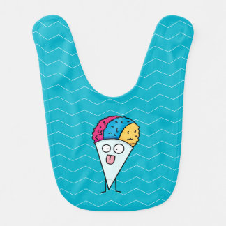 Happy Snow Cone Bib