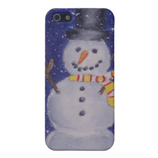 Happy Snow iPhone 5/5C Case