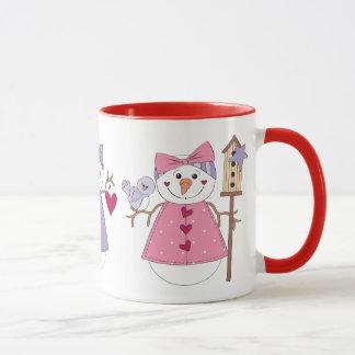Happy Snowgirl Mug