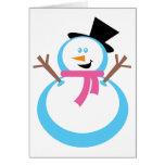 Happy Snowman Cards