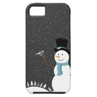 Happy Snowman - Christmas/Holiday Design iPhone SE/5/5s Case