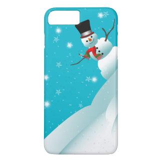Happy Snowman Christmas Winter iPhone 7 Case
