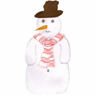 Happy Snowman Cutout