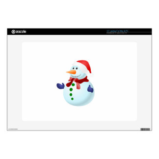 Happy Snowman Decals For Laptops