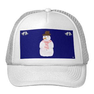 Happy Snowman Hat