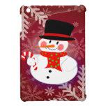 Happy Snowman iPad Mini Case