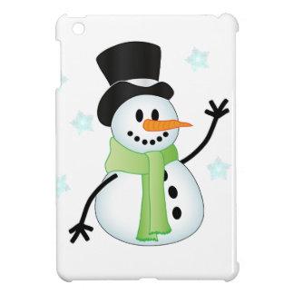 Happy Snowman iPad Mini Cases
