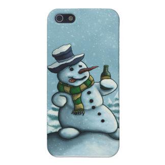 happy snowman iPhone4 case