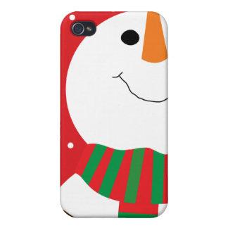 Happy Snowman iPhone 4/4S Cases