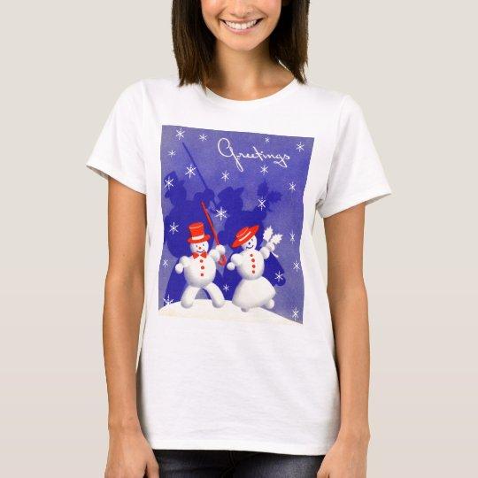 Happy Snowmen T-Shirt