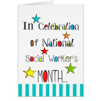 Happy Social Worker's Month Appreciation Card