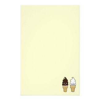 Happy Soft Serve Ice Cream cones Stationery